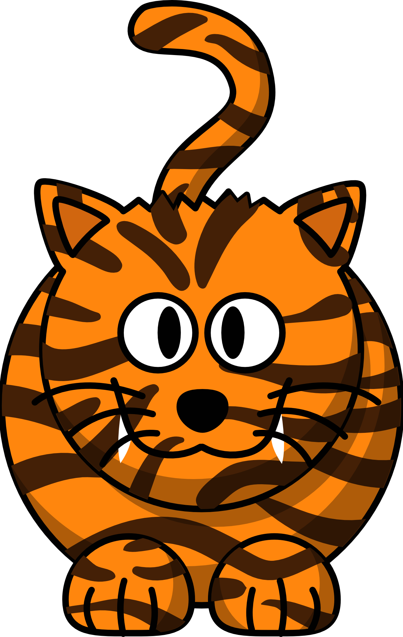 1331x2106 Baby Tiger Free Clipart 1 Page Of Clip Art