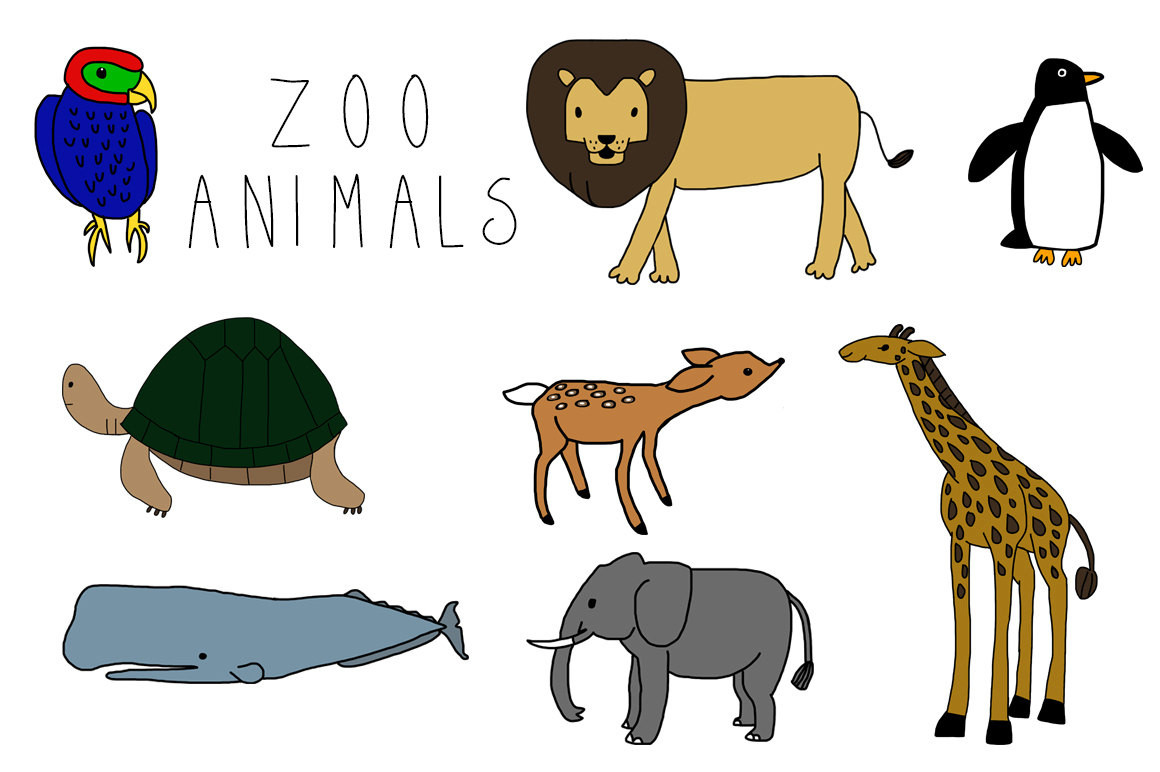 1160x772 Free Clip Art Zoo Baby Forest Animal Clipart Alihkan.us