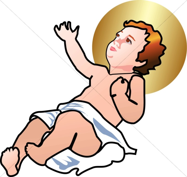776x734 Free Clip Art Baby Jesus Clipart