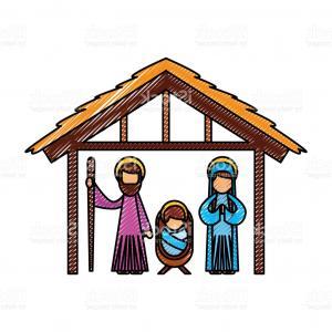 300x300 Royalty Free Stock Photos Funny Christmas Nativity Scene Holy