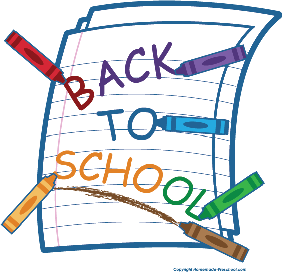564x542 Back To School Clipart For Free