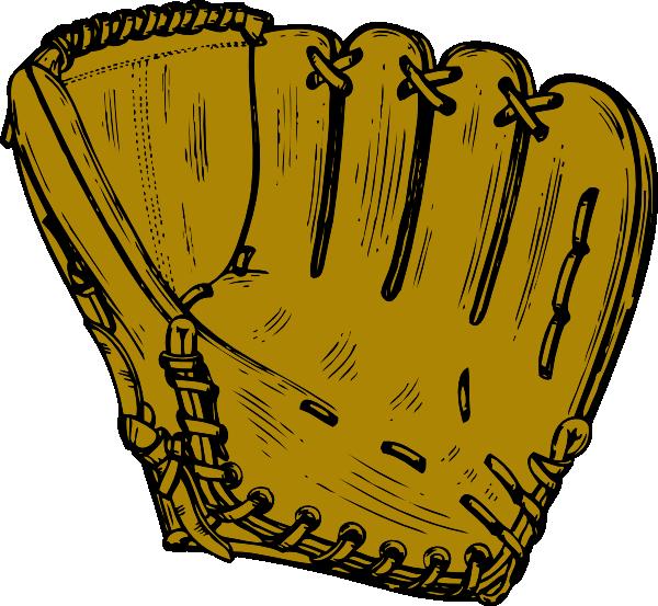 600x553 Baseball Glove Clip Art Free Vector 4vector