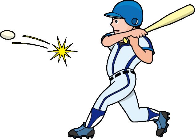 633x453 Hit Baseball Bats Batter Clip Art