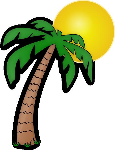 456x595 Palm Tree Clip Art Transparent Background Clipart Panda
