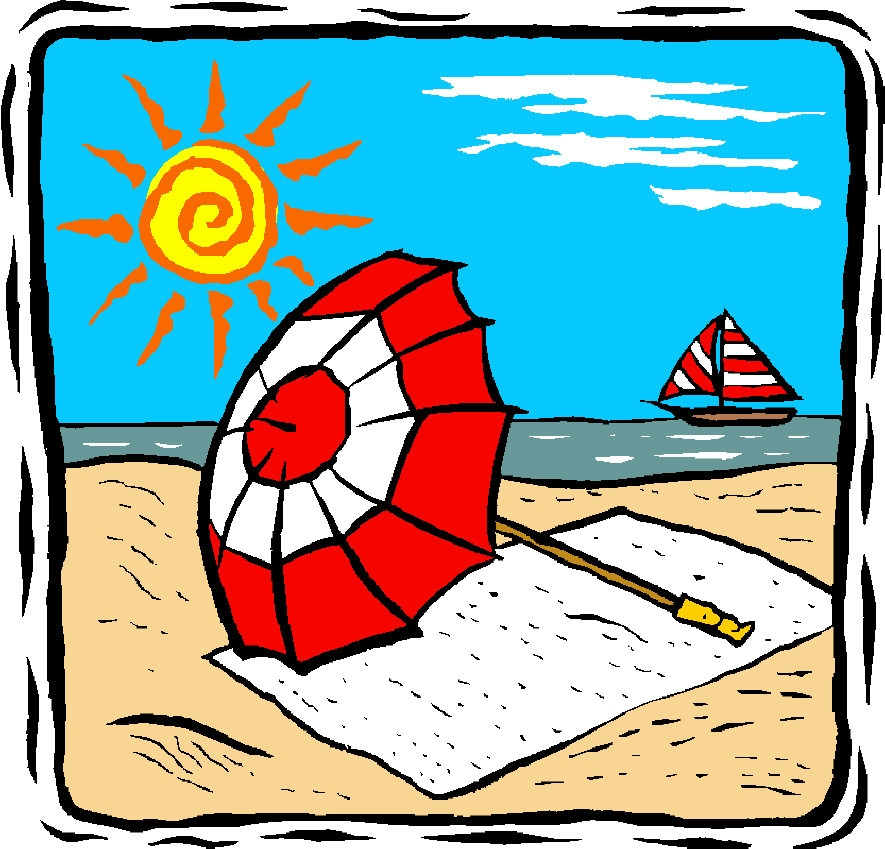 885x849 Summer Holiday Clip Art Free Images Seaside Clipart Beach Holiday