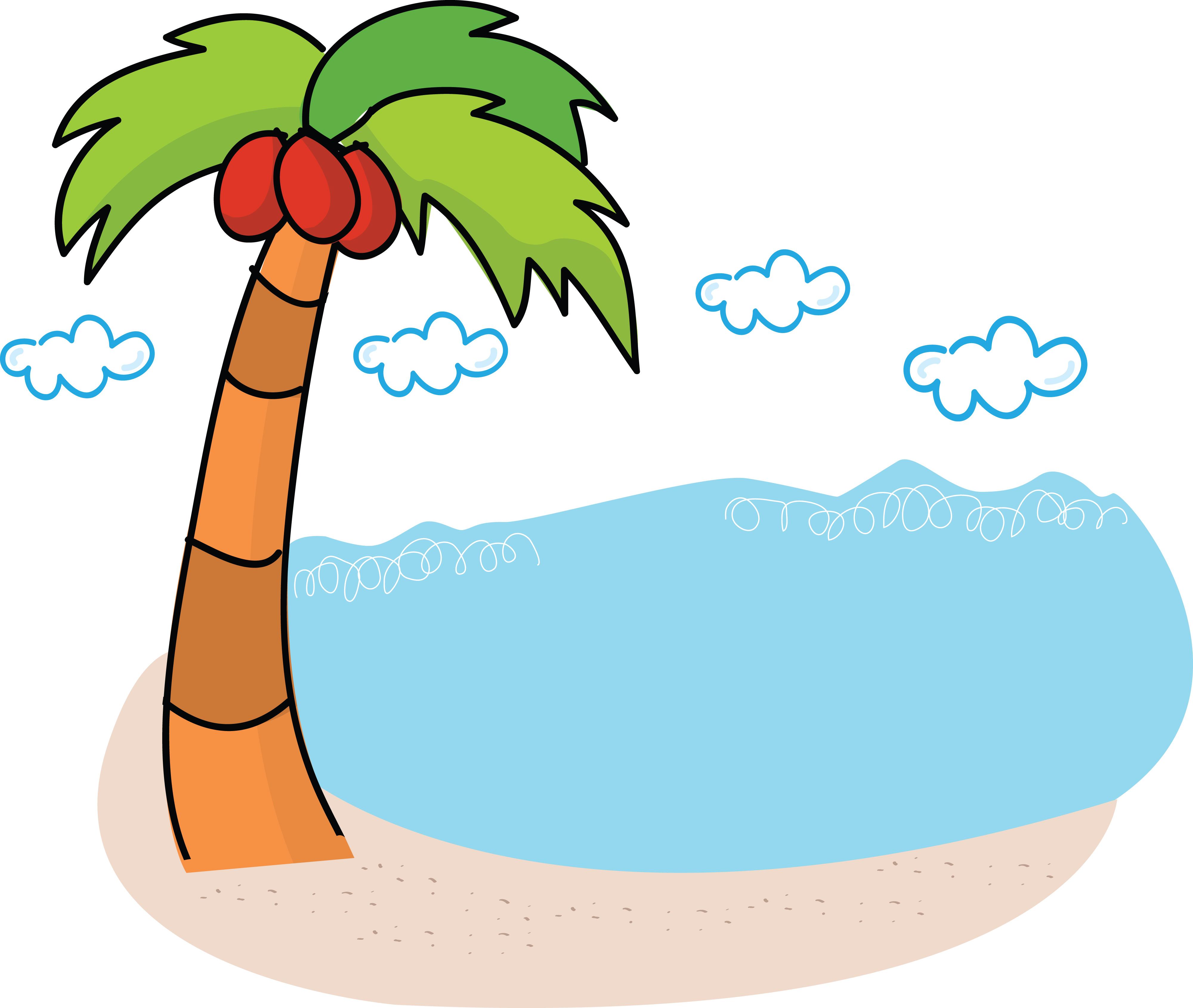 4000x3381 Beach Free Clip Art