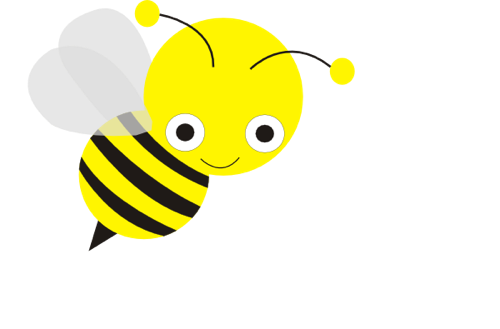500x329 Free Bee Clip Art From The Clipart Panda
