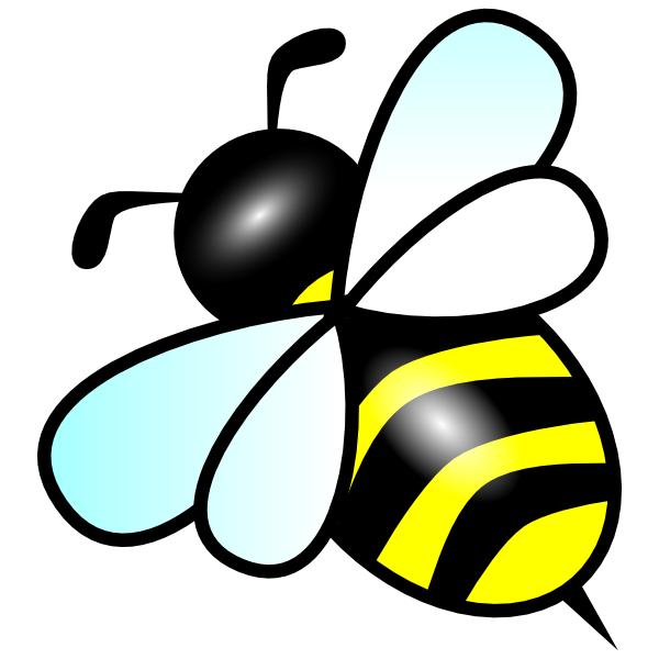 600x600 Bee Clip Art