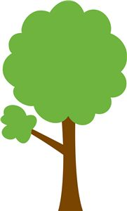 181x300 Cozy Clipart Tree Leaves Clip Art At Clker Com Vector Online
