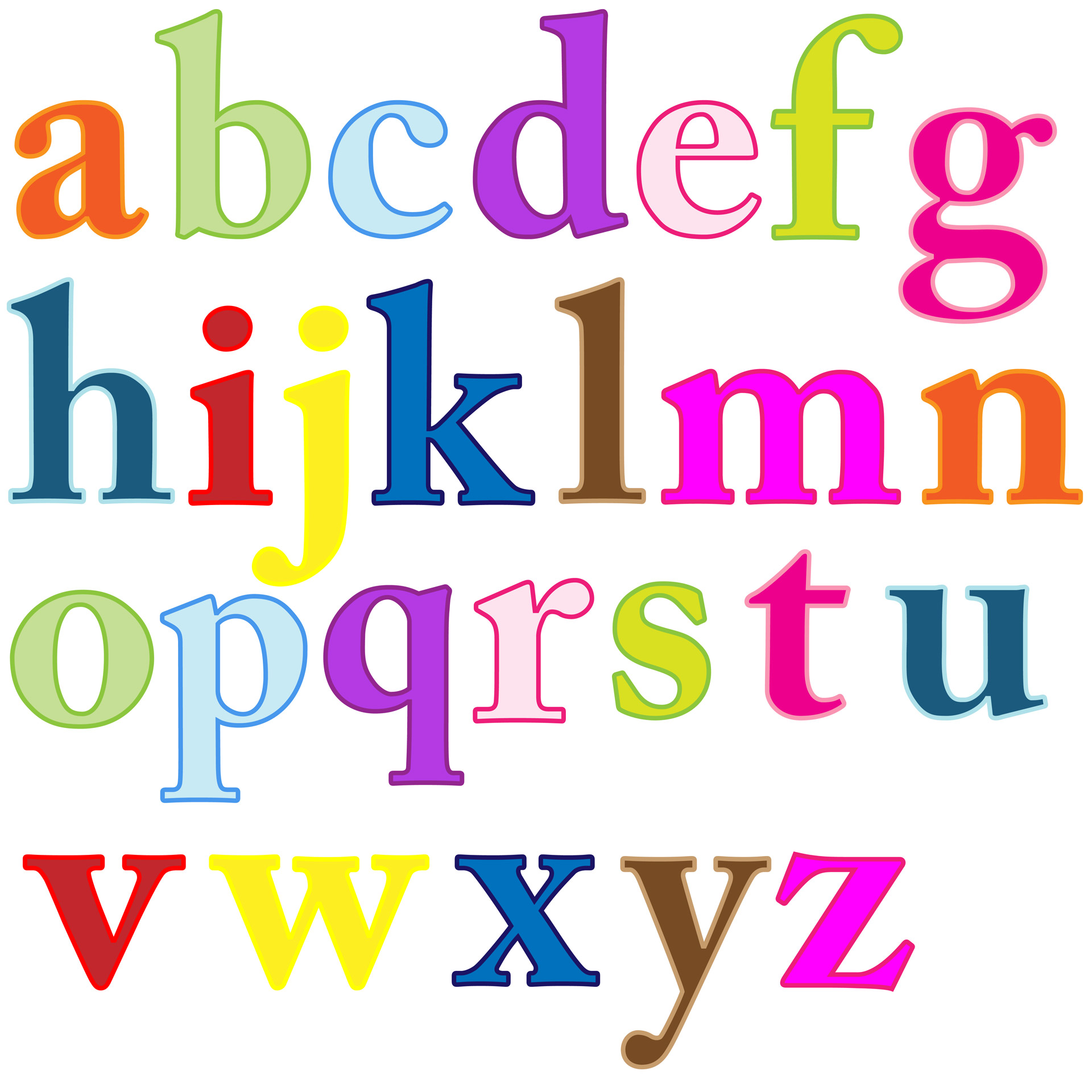 1920x1920 Free Letter Clipart