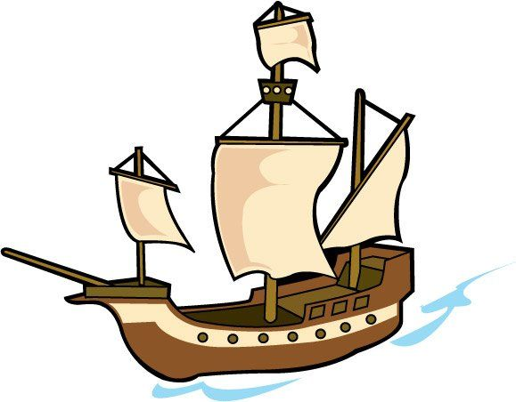 579x452 Pirate Ship Clip Art Clipart Panda