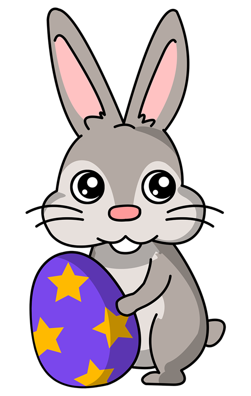 507x800 Easter Clip Art Easter Bunny Clipart Free Easter