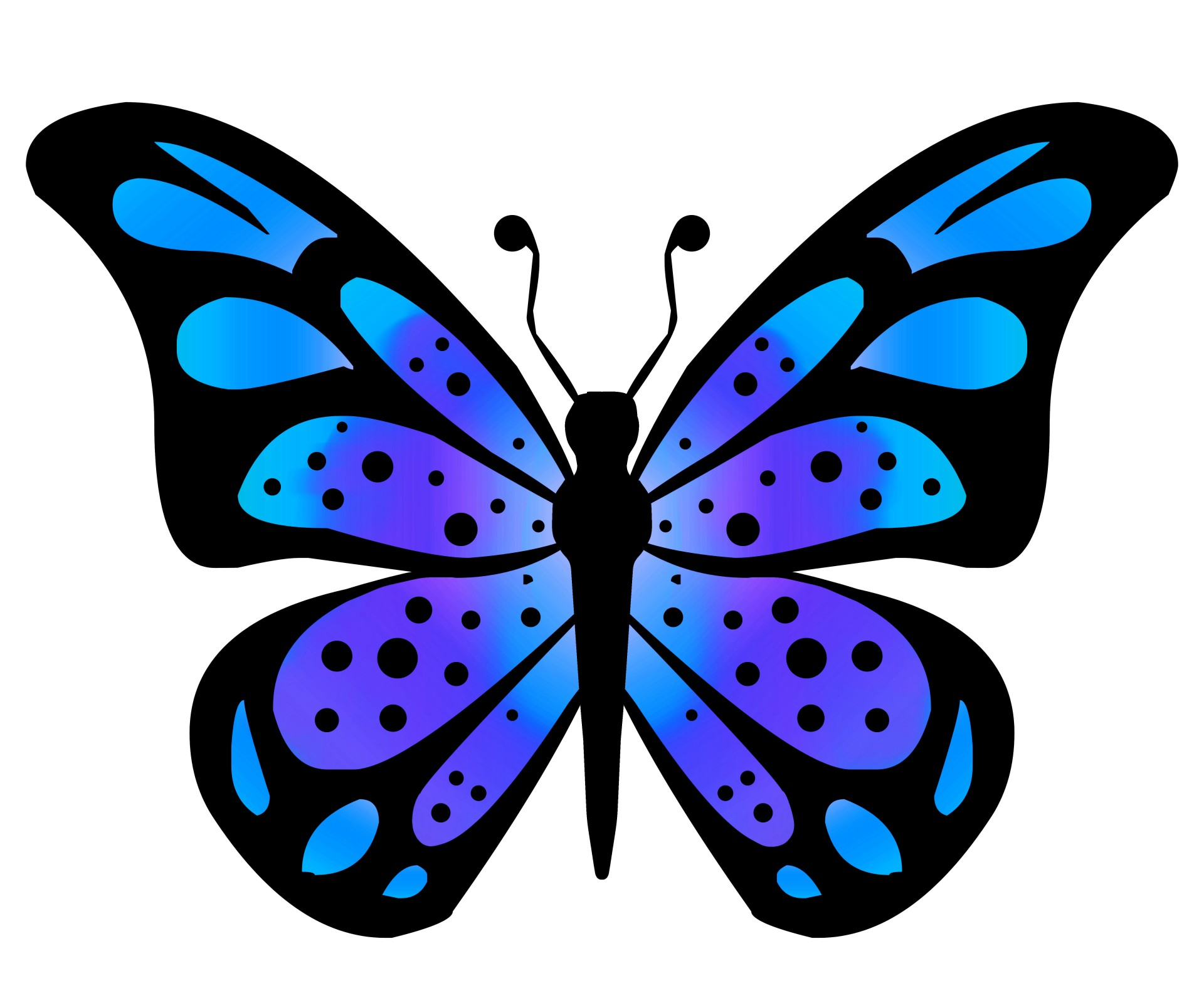 1920x1600 Clipart Butterfly 3 Free Stock Photo