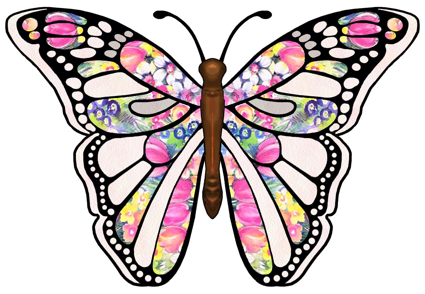 1484x1026 Butterfly Clip Art Butterfly Clipart Graphicsde 3