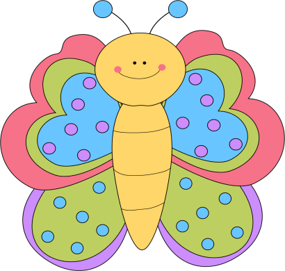 410x390 Collection Of Cute Butterfly Clipart For Kids High Quality
