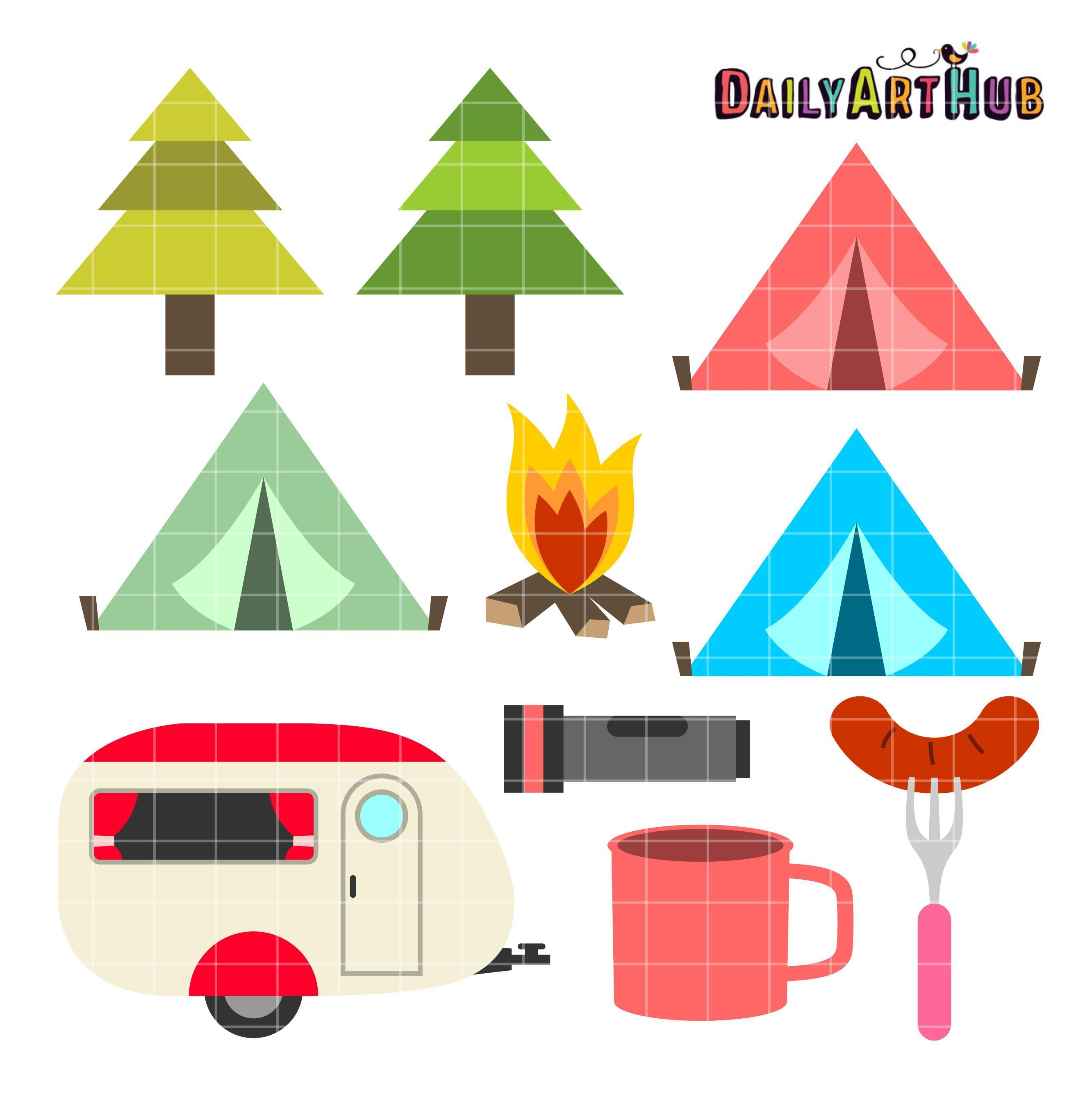 2664x2670 More Info Best Of Backyard Camping Clipart Update