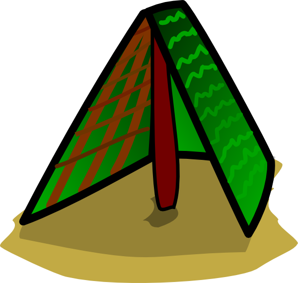 600x570 Tent Camping Clipart