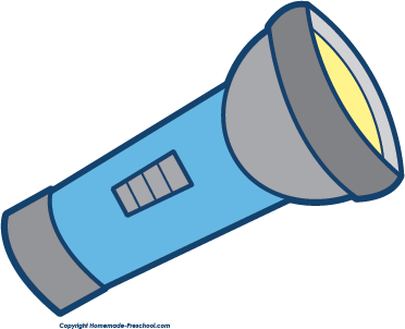 372x302 Flashlight Free Camping Clipart Png