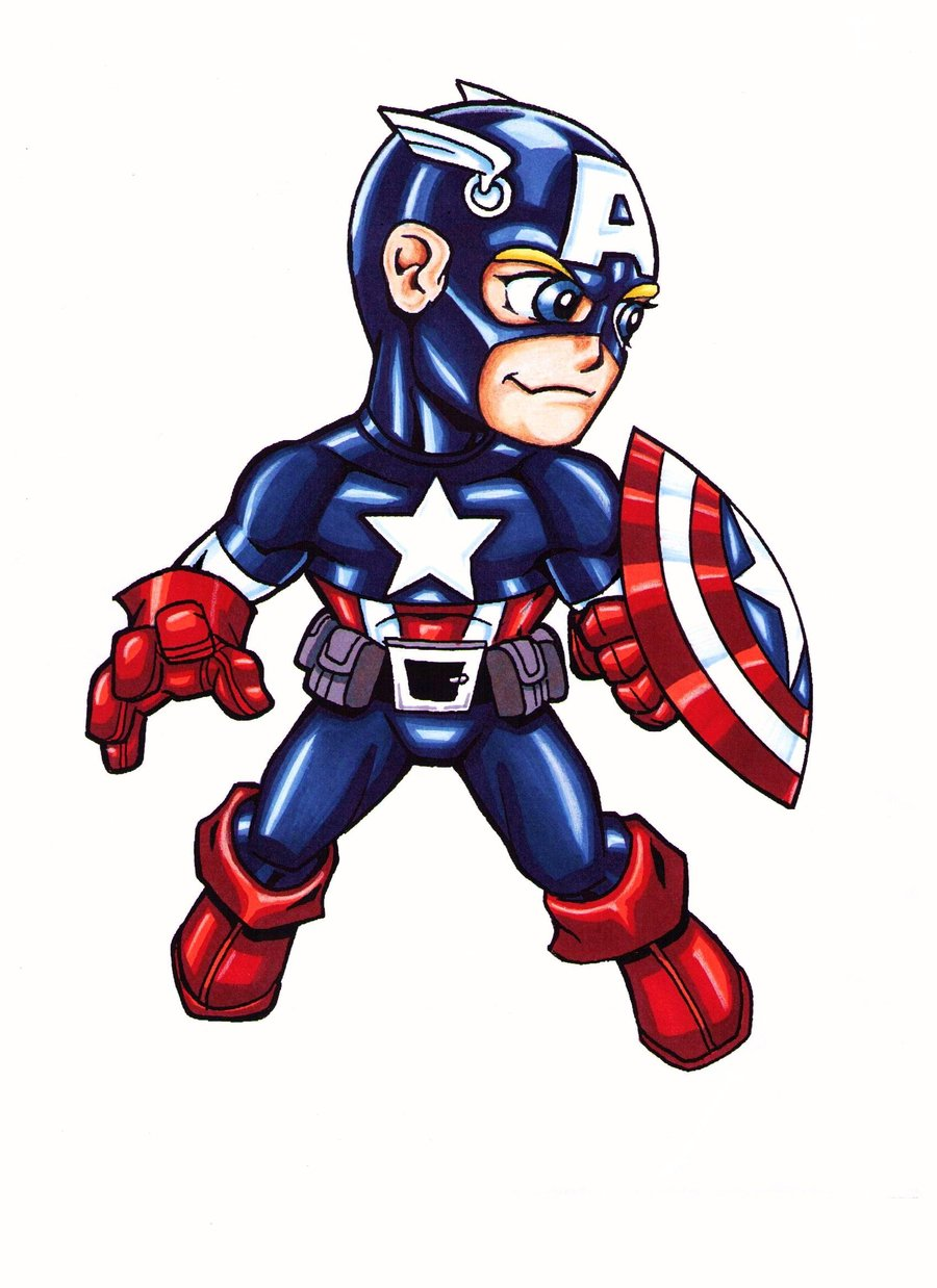 900x1238 Captain America Live Clipart