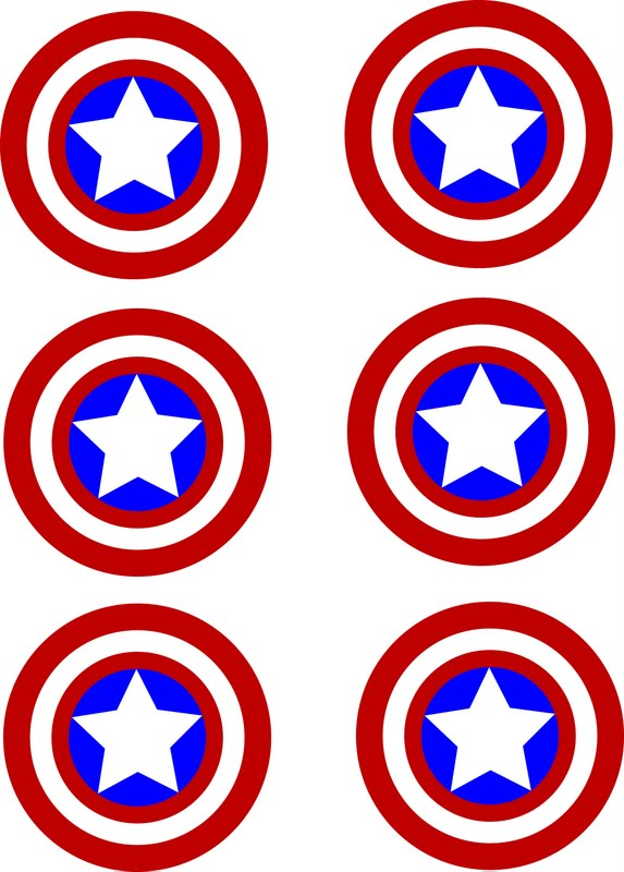 573x800 Robyn Crumby Free Captain America Stickers