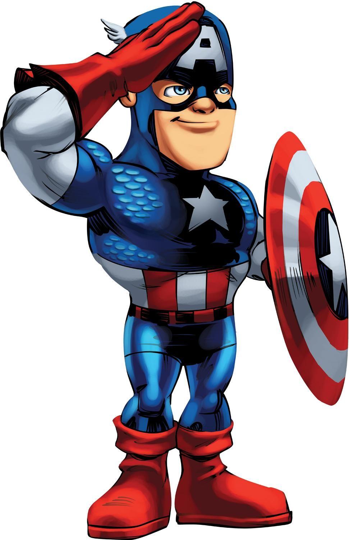 971x1500 Captain America Cartoon