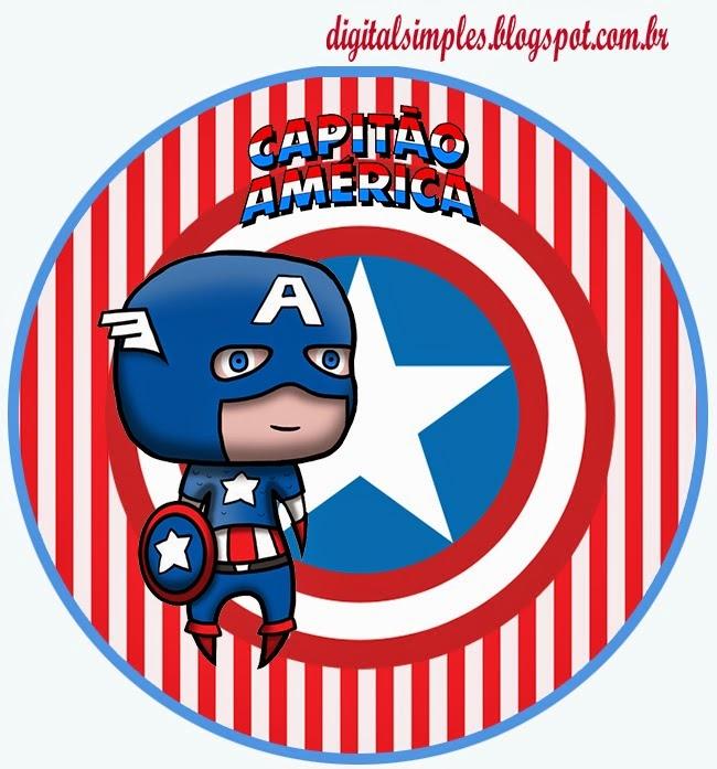 650x697 Captain America Baby Free Printable Kit.