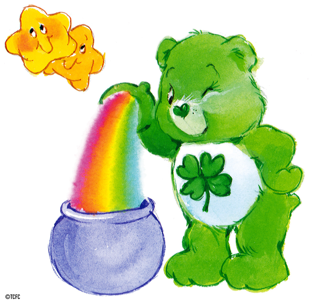 1000x971 Good Luck Bear With A Pot Of Gold By American Greetings