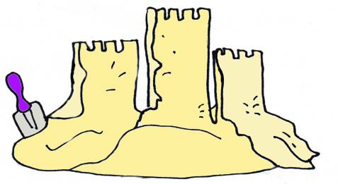 477x261 Free Sand Castle Clipart And Vector Image