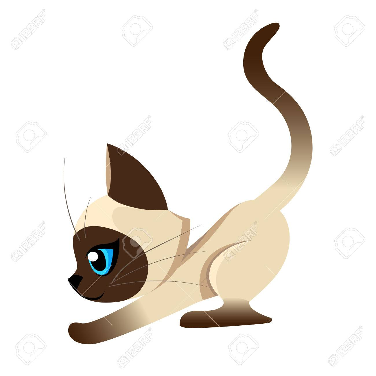 1300x1300 Siamese Cat Clipart Clip Art