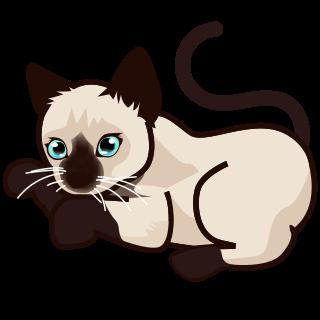 320x320 Siamese Cat Clipart Clip Art
