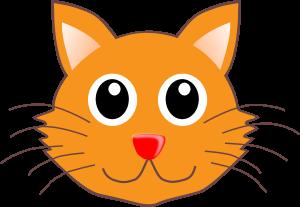 300x207 Cat Head Clipart Cat Clip Art