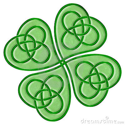 400x399 Celtic Knot Clipart Four Leaf Clover