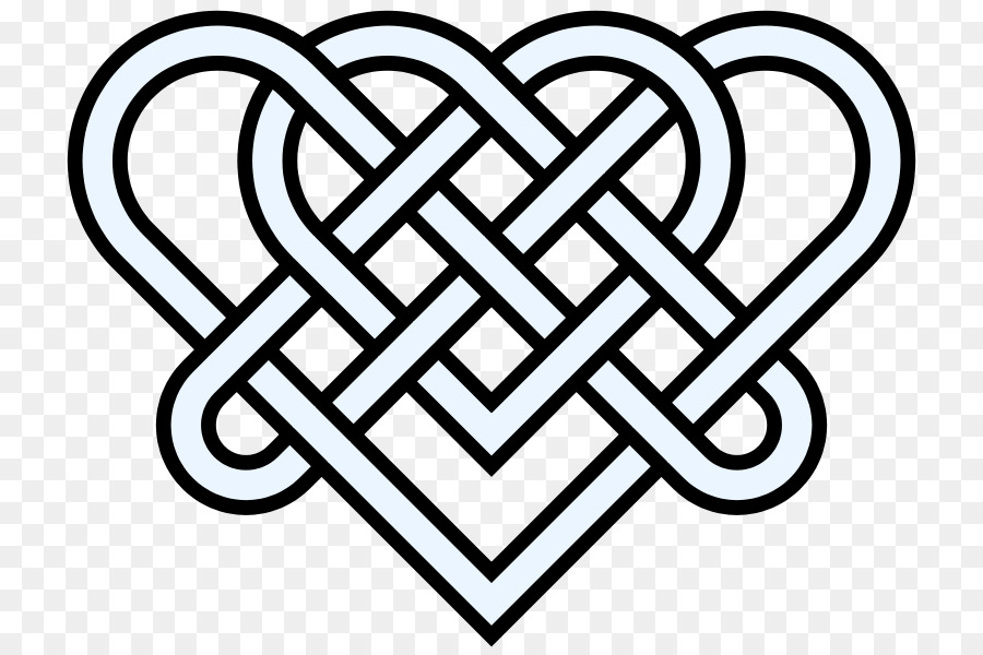 900x600 Celtic Knot Heart Endless Knot Clip Art