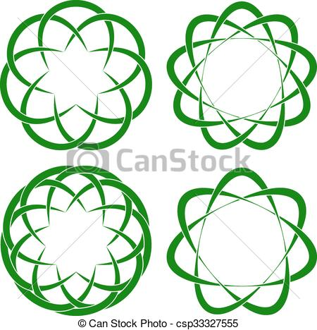 450x468 Vector Illustration Of Celtic Knots.