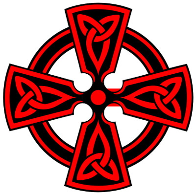 400x397 Free Celtic Cross Clipart