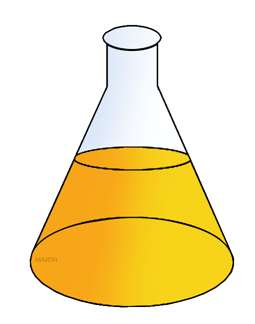 511x648 Chemistry Clip Art By Phillip Martin, Erlenmeyer Flask
