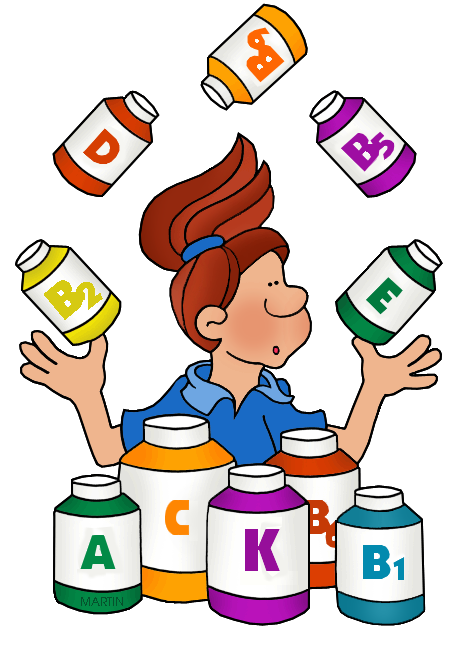 468x648 Chemistry Clip Art By Phillip Martin, Vitamins