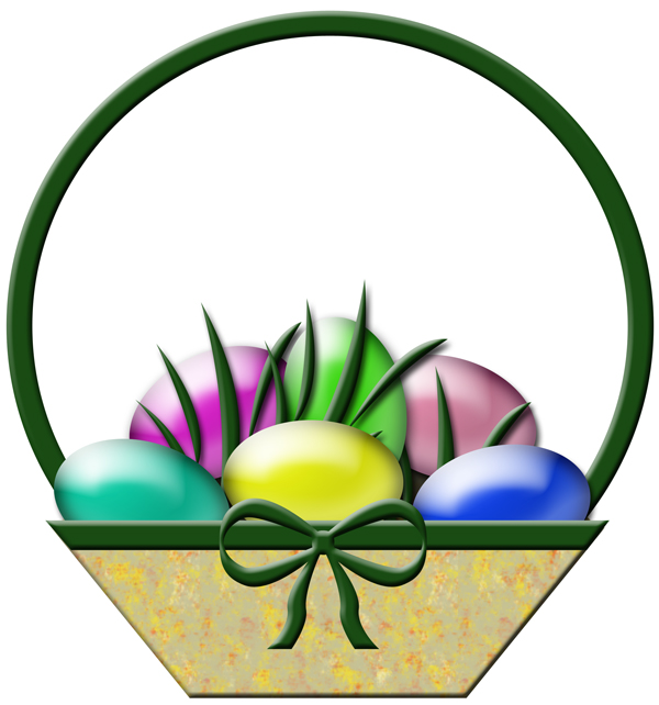 600x642 Free Happy Easter Clipart