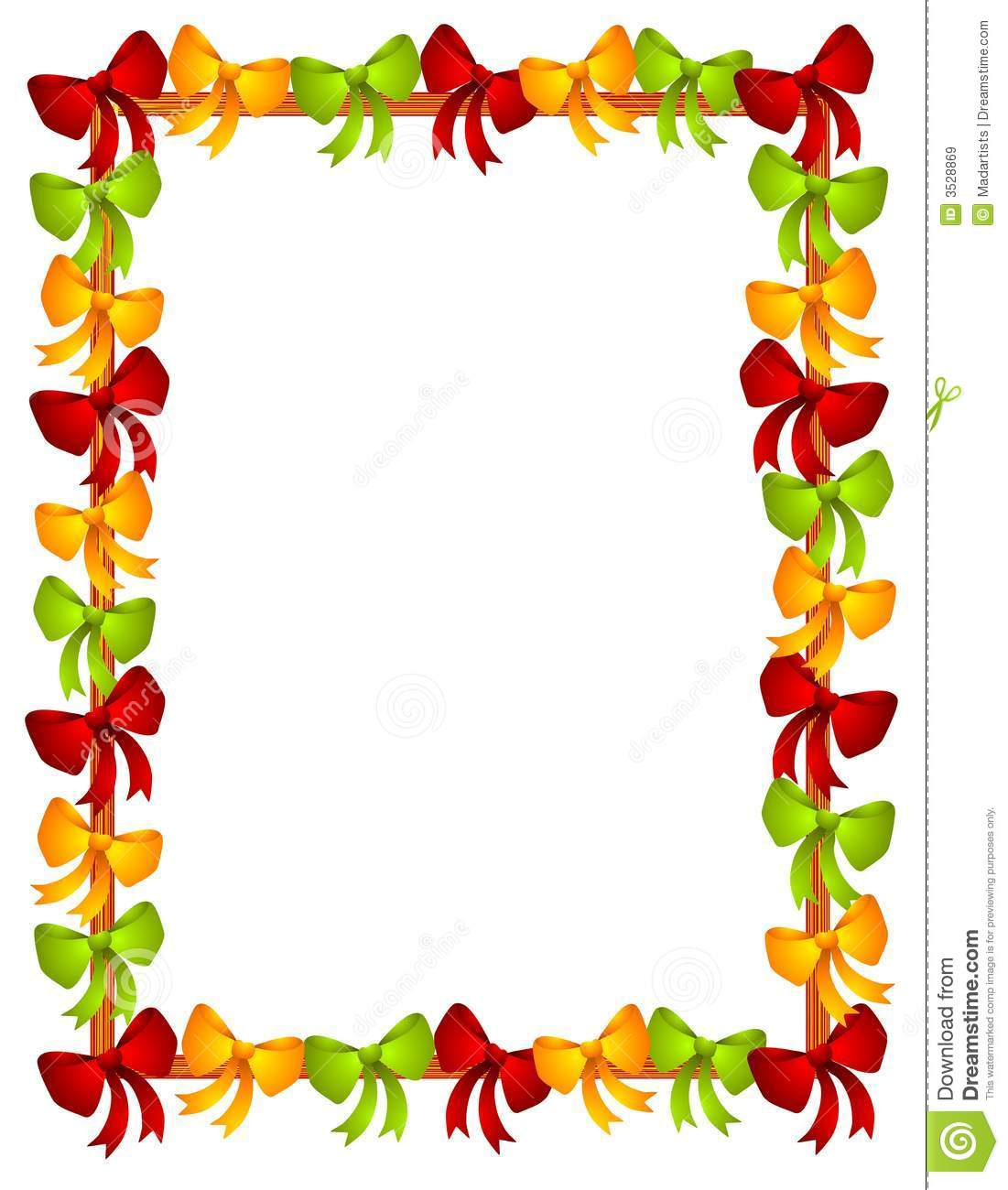 1101x1300 Free Christmas Border Frame Clipart