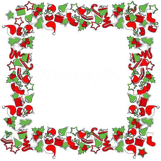 550x550 Christmas Frame Clip Art At Home Printable Photo Frames For Kids