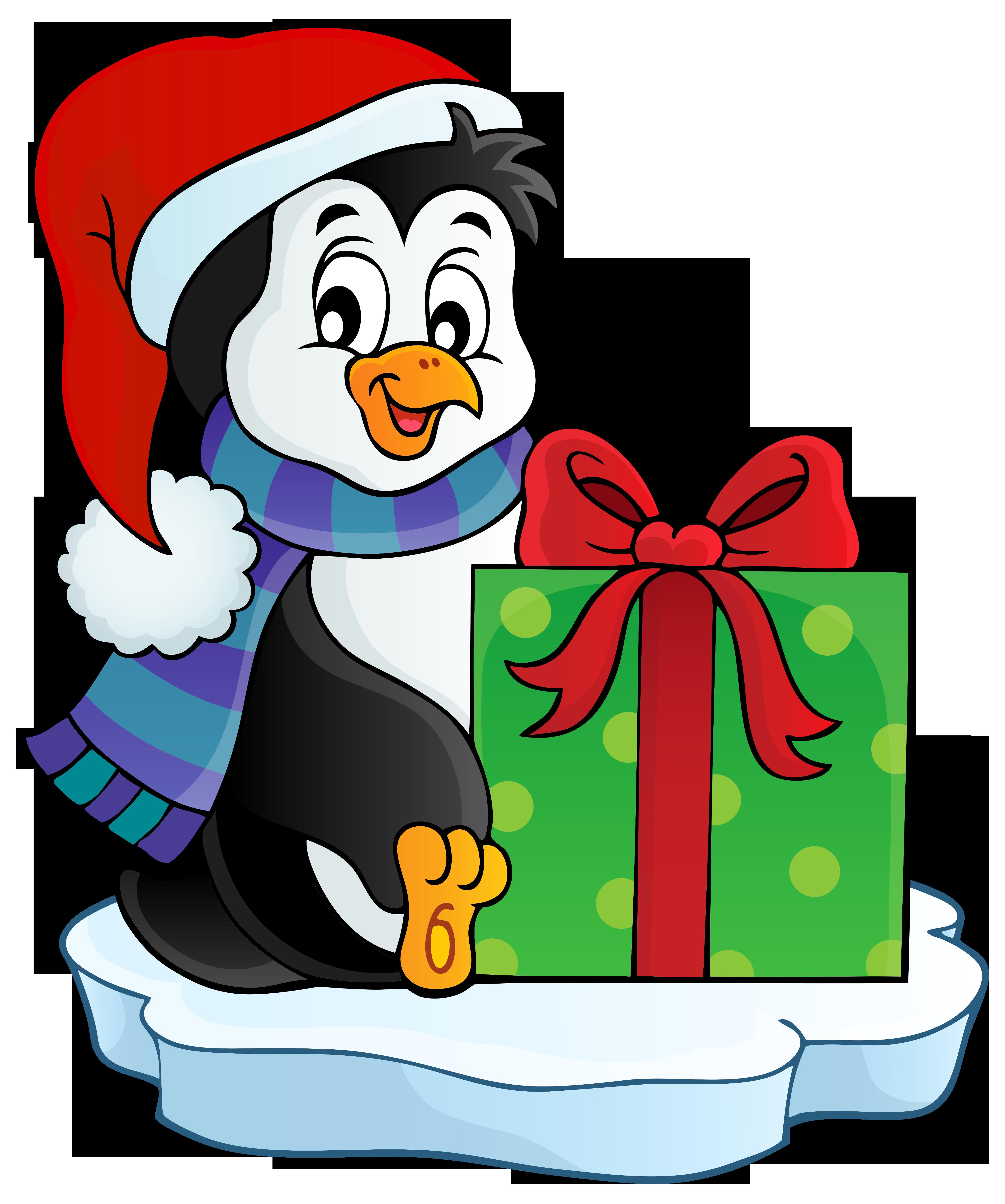 4308x5162 Christmas Penguin Transparent Png Clip Art Imageu200b Gallery