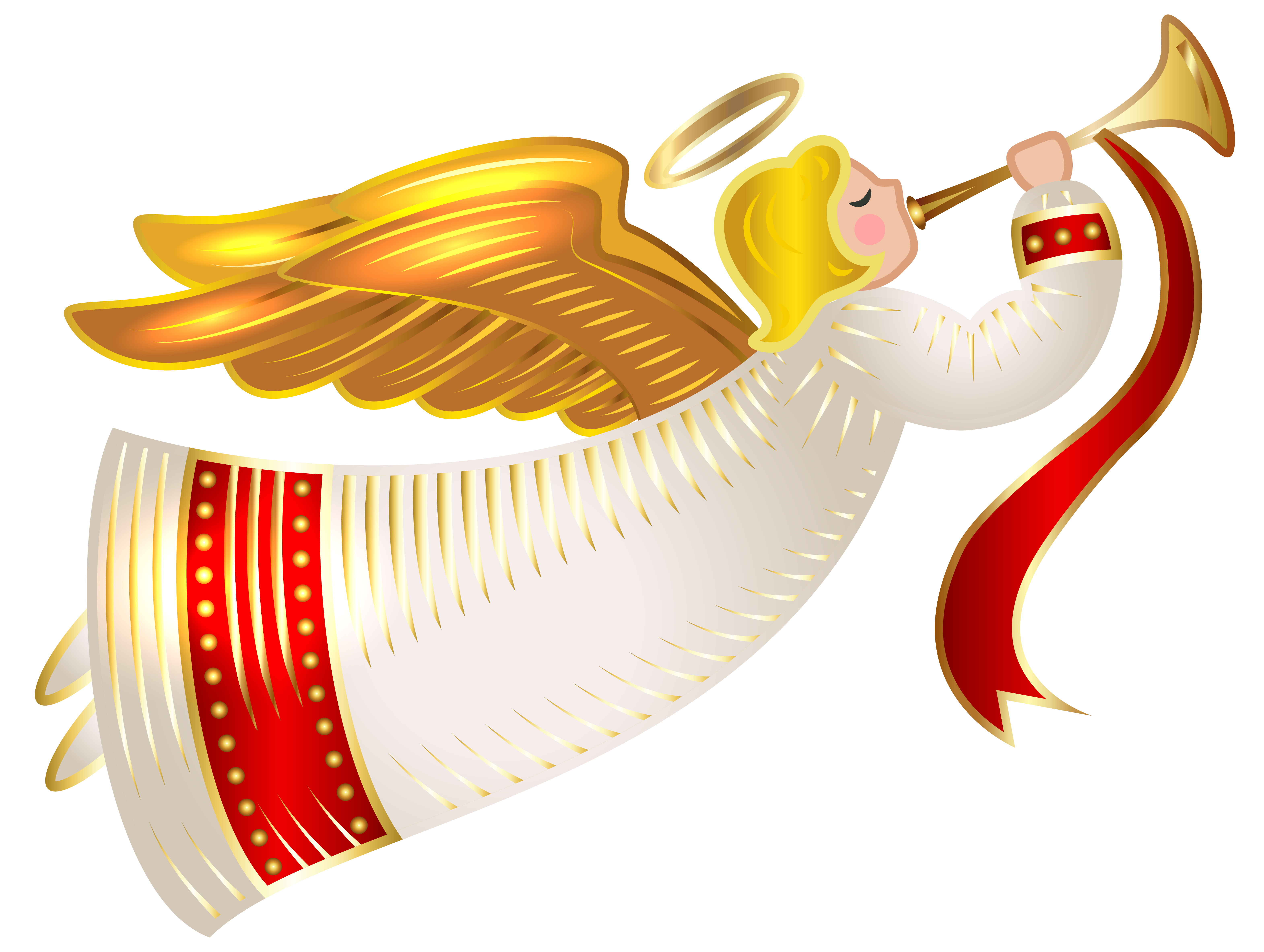 6282x4732 Free Christmas Angel Clipart Merry Christmas And Happy New Year 2018