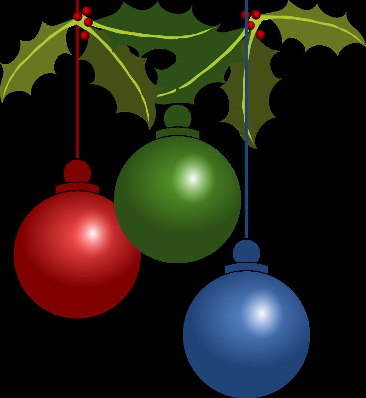 736x800 Free Christmas Decorations