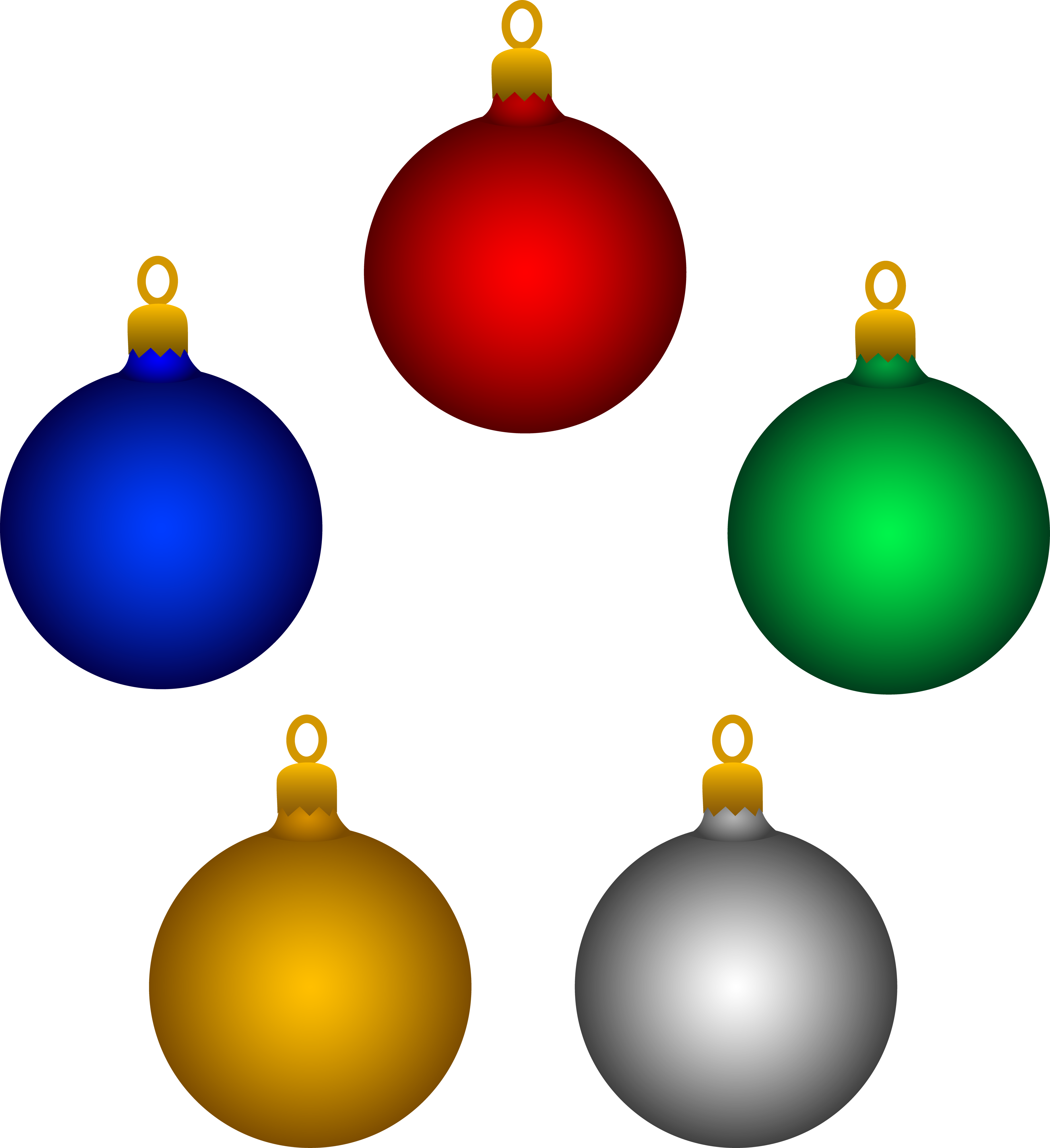 Free Christmas Ornament Clipart at GetDrawings.com | Free for ...