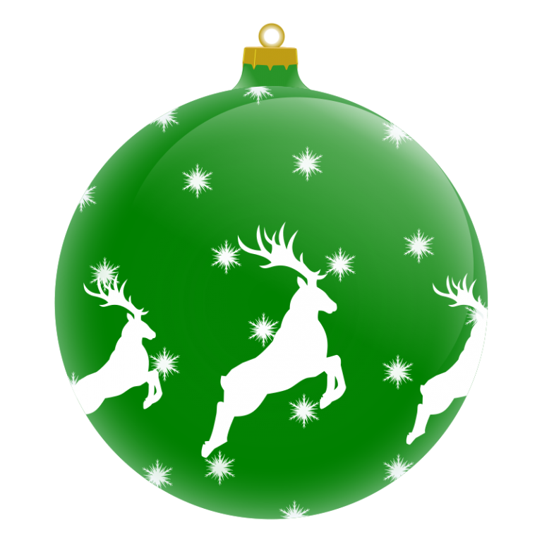 768x768 Holiday Ornaments Clipart Christmas
