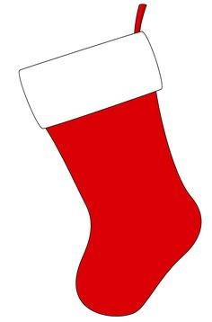236x358 Free Christmas Stocking Template, Clip Art Amp Decorations