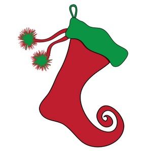 300x299 Free Free Stocking Clip Art Image 0515 0912 1510 0013 Christmas