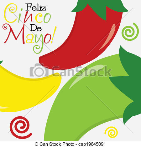 450x470 Cinco De Mayo (Happy 5th Of May) Card In Vector Format. Eps