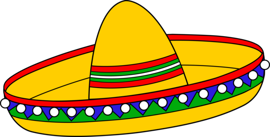 550x280 Sombrero Clip Art Item 3 Vector Magz Free Download Vector