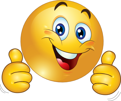 512x430 Smiley Face Clip Art Thumbs Up Free Clipart Images 2 Akhil Viz